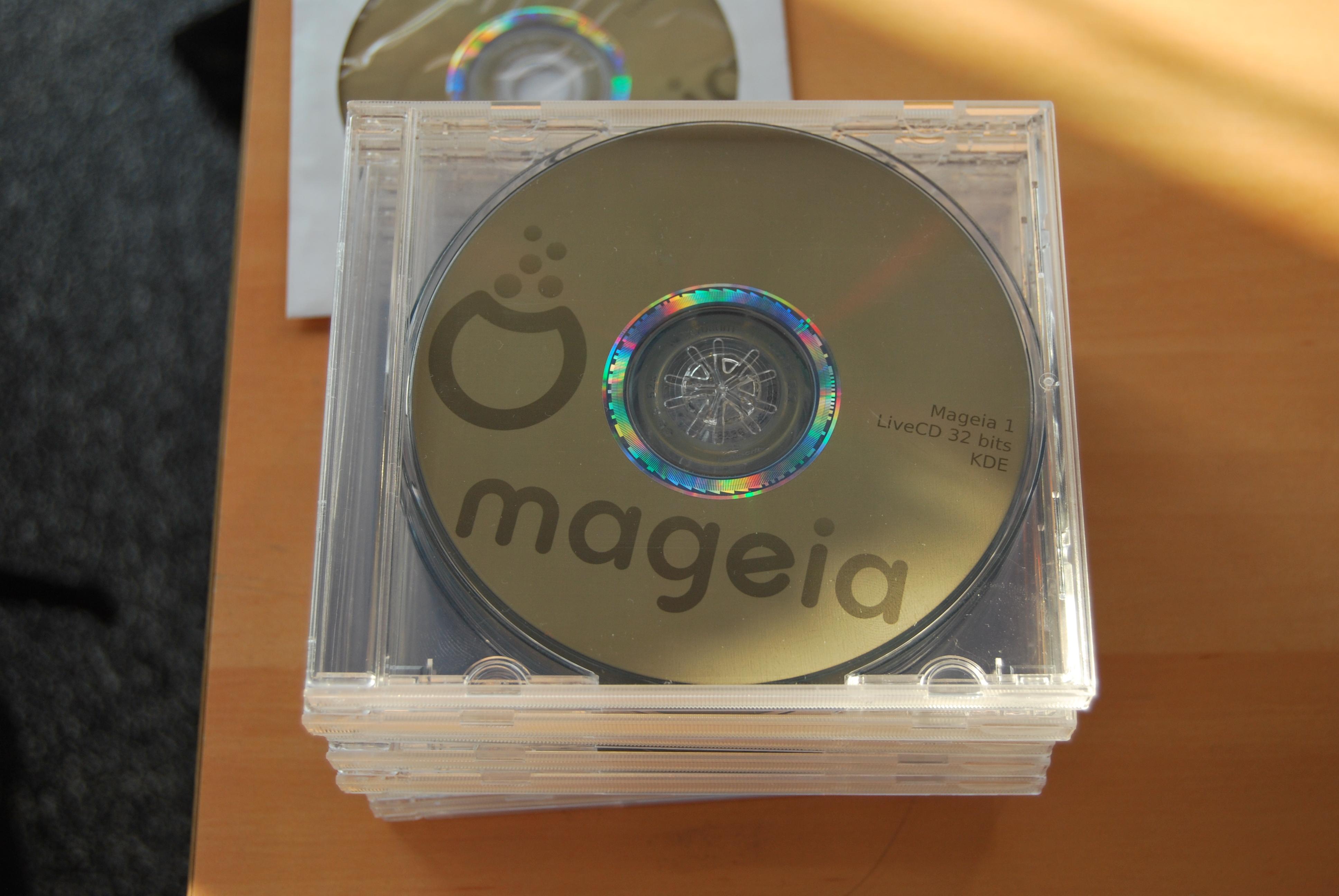Mageia CD