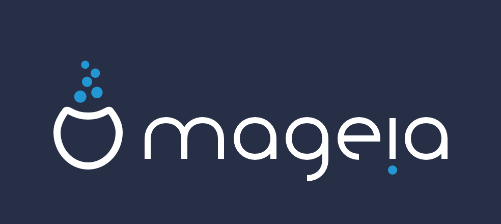 New Mageia logo - dark version